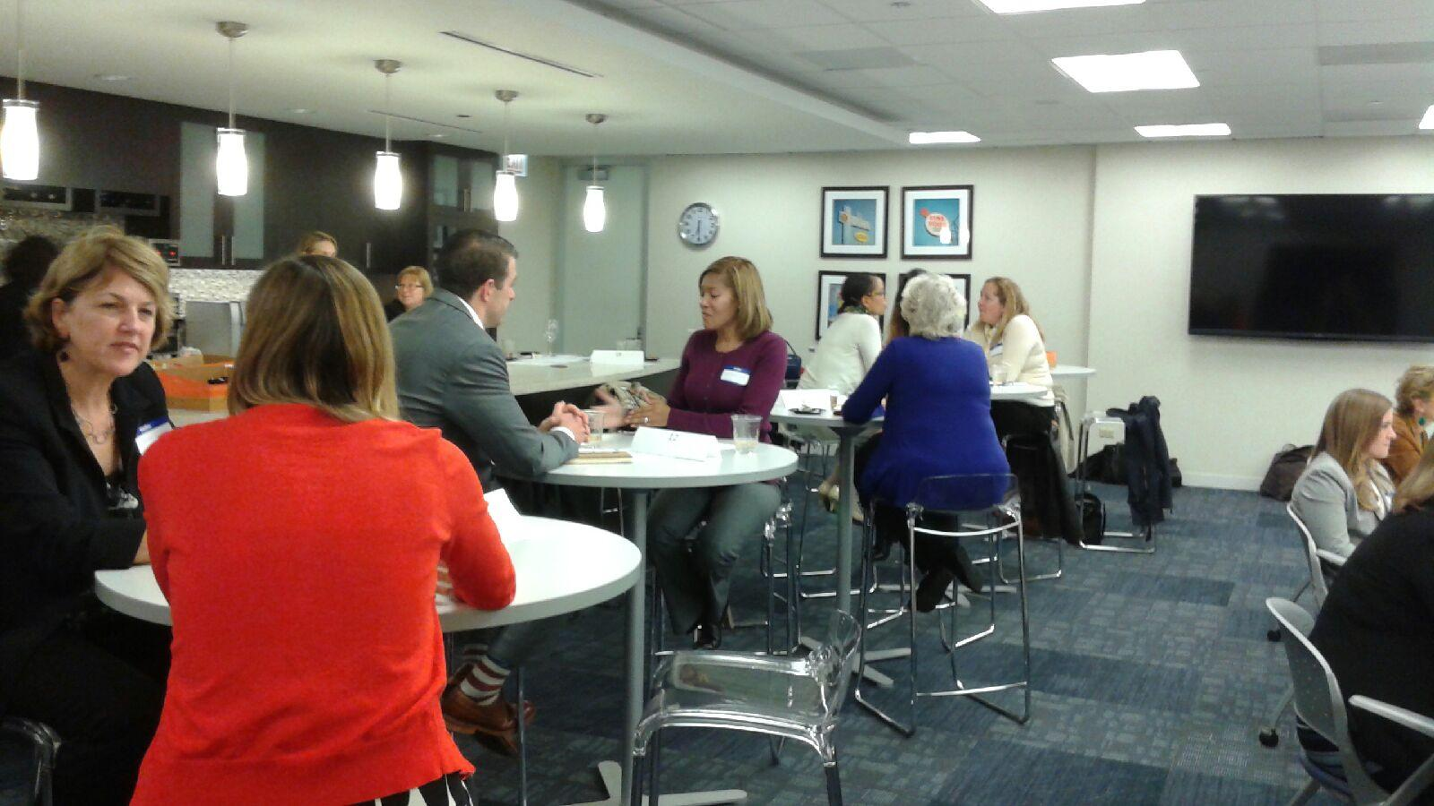 Speed dating mentoring